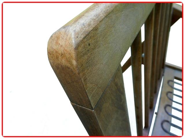 fauteuil boomerang vintage scandinave