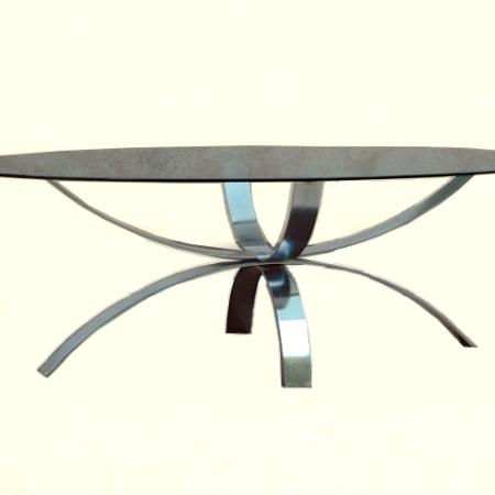 Table basse design 1980