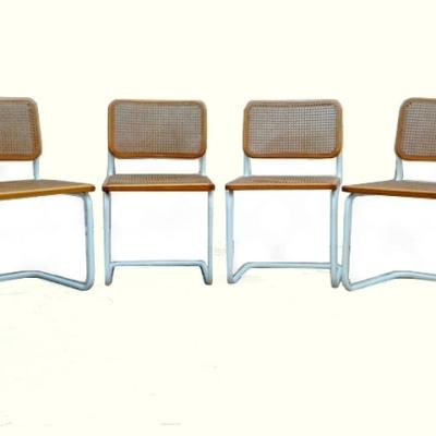 Chaises design M. Breuer cesca B32