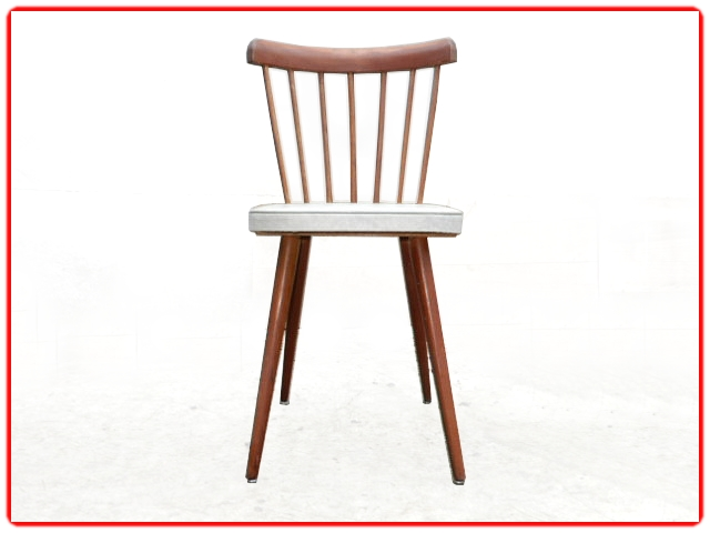 chaises vintage rétro 1960 skaï dls Baumann